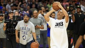 LaVar Ball Lost A Shootout To Ice Cube So He Probably Won't Be Beating Jordan Anytime Soon