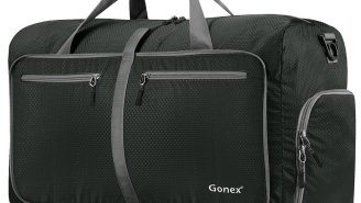 Finally, A Duffel Bag That Will Hold Stuff For The Gym, Travel And Basically Everything You Own
