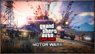 Gameplay Video: GTA Online's New Update Features Battle Royale 'Motor Wars' DLC
