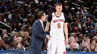 Kristaps Porzingis Reportedly Skipped Exit Meeting Because Jeff Hornacek Wanted Him To Stop 'Playing Like A P****'