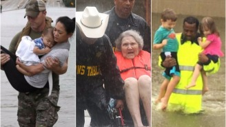Incredible Photos And Videos Of Houston Rescues During Harvey Show The Greatness Of America