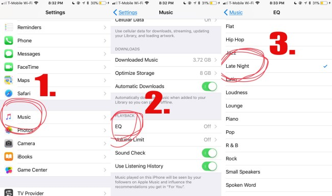 iphone hack music play louder