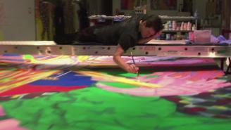 Watch This Surprisingly Fascinating Short Documentary On Jim Carrey Painting Art
