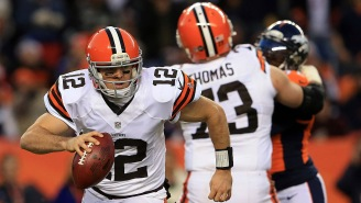 Browns Pro Bowler Joe Thomas Trying To Name All 18 Quarterbacks He's Protected Is Hilarious*