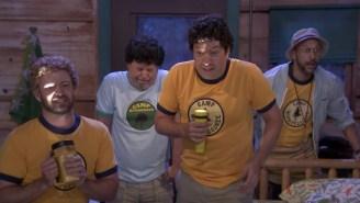 Justin Timberlake, Keegan-Michael Key, Billy Crystal, And Jimmy Fallon Get Weird At Camp Winnepesaukee