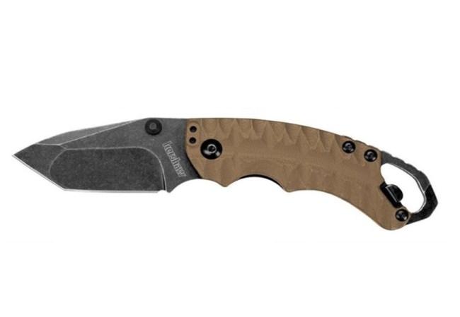 Kershaw Knives Shuffle II Tan Tanto Blade