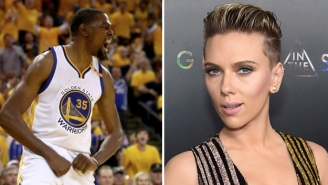 Kevin Durant Doubles Down On His Tweet From 2011 About Drinking Scarlett Johansson's Bath Water