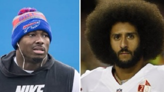 Bills' LeSean McCoy Says Colin Kaepernick Isn't Worth The Distraction Because He's 'Not That Good Of A Player'