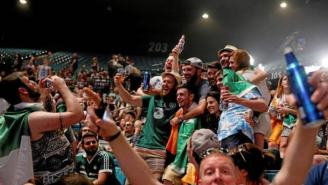 The Irish Have Invaded Las Vegas And Taken Over The City In Their Support Of Conor McGregor