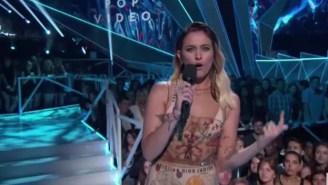 Michael Jackson's Daughter, Paris Jackson, Blasts Nazis And White Supremacists While Presenting Award At The MTV VMAs
