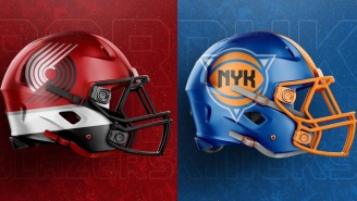 Incredibly Talented Designer Created NBA Team Logo Football Helmets And They're Freaking SICK