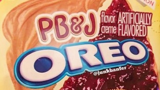 PB&J Oreos Are Now A Thing That Exist So Just Go Ahead And Start Giving Me Insulin Shots Now
