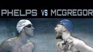Michael Phelps Challenges Conor McGregor To A Swimming Race