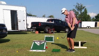 Beer Pong Golf Is The Latest Craze In Viral Tailgating Golf Games