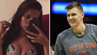 Knicks' Kristaps Porzingis Shoots His Shot At Instagram Model For The Second Time, Gets Rejected Again