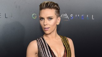 Scarlett Johansson Spotted Rocking A Very Interesting, And Very Large, New Back Tattoo