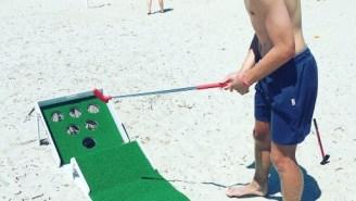 Get 10% Off Putter Pong — The Putt-Putt x Skeeball x Beer Pong Yard Game Of The Summer