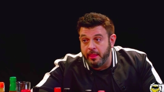 Adam Richman From 'Man Vs. Food' Eats The World's Hottest Foods