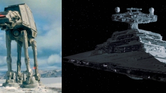 Star Wars Unveils Modern New AT-AT And ENORMOUS Star Destroyer With Tons Of Guns For 'Last Jedi'