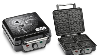 Of Course You Need This 'Star Wars' Waffle Maker, Don't Be Stupid