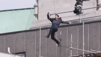 Tom Cruise Shares Videos Of 'Mission Impossible' Failed Stunt That Ended In Horrific Ankle Break
