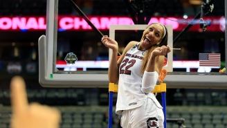 College Basketball Player Posts Video Of Herself Falling Off Treadmill And My Friday Just Got Better