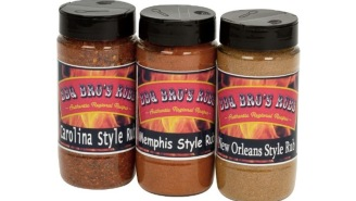 This 3-Pack Of BBQ Bros Meat Rubs Averages 5-Stars On Amazon With Over 500 Reviews