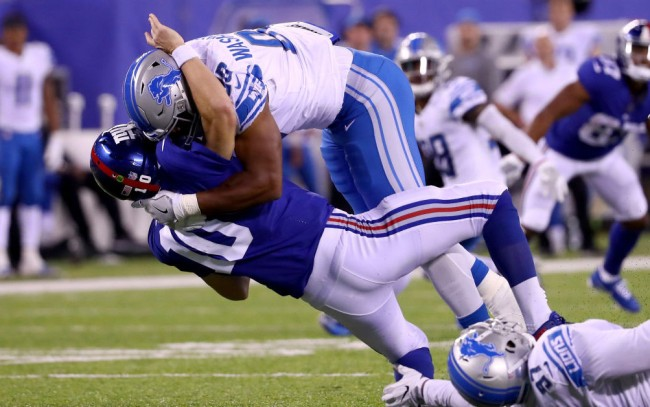 Ben McAdoo Eli Manning comments Lions loss