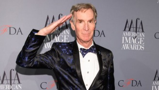 Bill Nye Accidentally Walked In On Some Women Snapchatting In An Elevator, Handled It Like An Ace