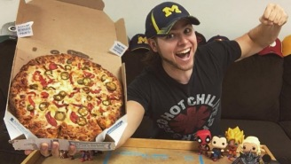 Check Out This Bro Who Ate A Domino's Pizza Every Day For A Year And Actually LOST Weight