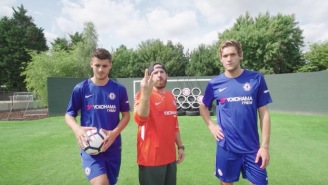 Get Hyped For Some Soccer With These 'Dude Perfect x Chelsea FC' Trick Shots