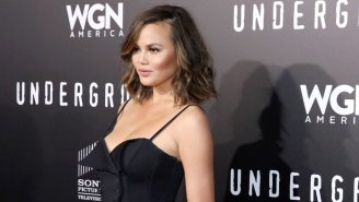 Chrissy Teigen Stumbled Upon A Naked Dating Show On TV So Of Course She Live-Tweeted It