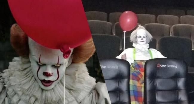 clowns invading it screenings