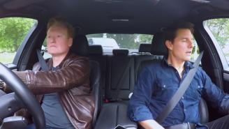 Conan Takes Tom Cruise On The Most Boring And Funny 11-Minute Car Ride