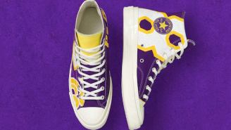 Converse Is Releasing A Line Of Shoes Made From NBA Jerseys