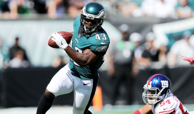 darren sproles tore acl broke arm same play