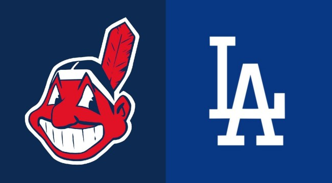 Cleveland Indians and Los Angeles Dodgers