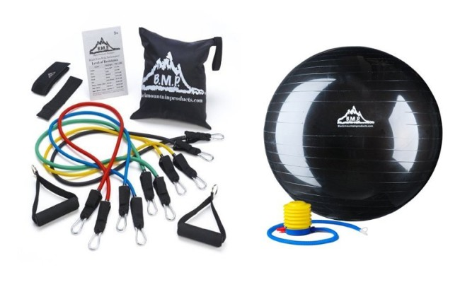 resistance band exercise equipment