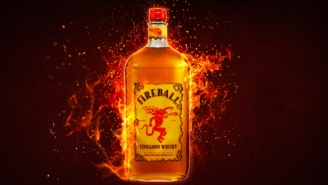 Two 18-Wheelers Colliding In Arkansas Results In Hundreds Of Bottles Of Fireball Whiskey Spilling Over The Interstate