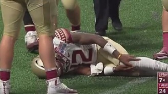 FSU Star QB Deondre Francois Out For The Season After Suffering Serious Knee Injury In First Game Against Alabama