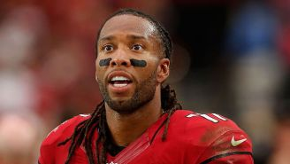 Larry Fitzgerald Offers To Pay The Fines Of Players Who Hit Him High Because He Prefers Concussions To Leg Injuries