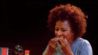 Comedian Wanda Sykes Takes On The 'Hot Ones' Challenge And Eats The World's Hottest Wings