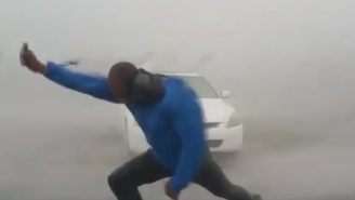 These Clips Of Reporters Getting Owned By Hurricane Irma Are Good For The Monday Blues