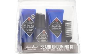 Keep Your Mangy Beard In Check All Winter With This Jack Black Beard Grooming Kit