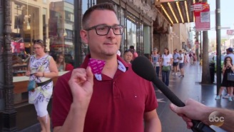 Jimmy Kimmel Asked Random People On The Street If They Were Carrying A Condom, Hilarity Ensued