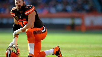Cleveland Browns Lineman Joe Thomas Said He Once Had To Introduce Himself To A Browns QB In The Huddle