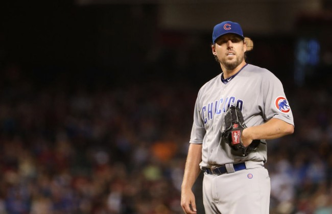 john lackey post game interview cubs clinch