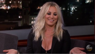 Kaley Cuoco Told A Couple Of A+ Stories About A Swing INSIDE Her House And A Crazy Encounter With The TSA