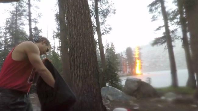 Lightning Strike Camping