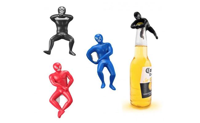 lucha bottle openers